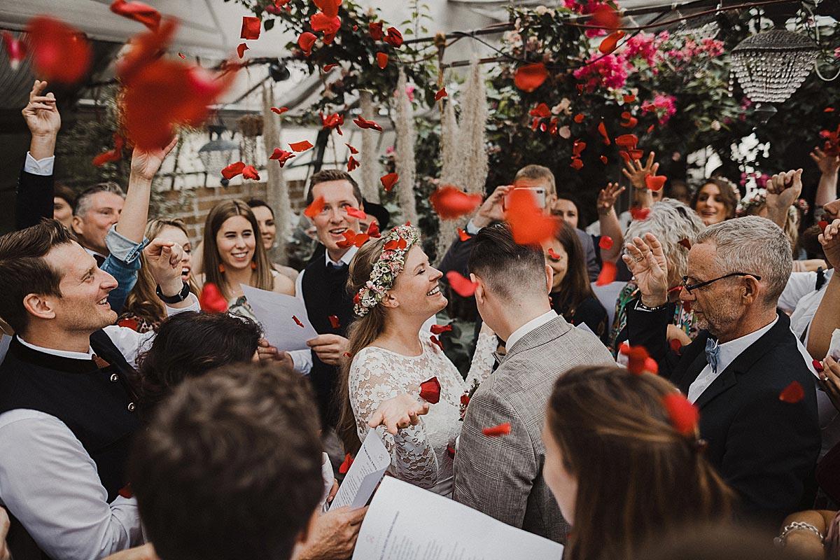 Hochzeit in der Alten Gärtnerei